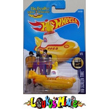 Hot Wheels The Beatles Yellow Submarine Submarino Amarelo