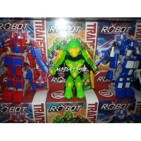 Lego Transformer Rescue Bots Optimus Bumblebee 10cm Modatoys