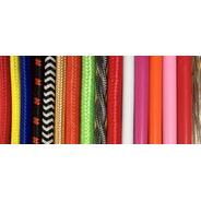 Metro De Cable Textil Elige El Color
