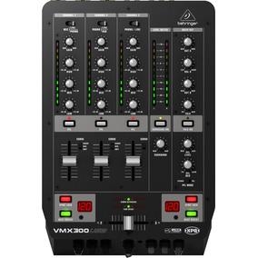 Mixer Dj Behringer Vmx300 Usb - Revenda Autorizada