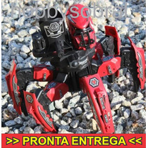 Robô Aranha Guerreiro, Lança Discos De Borracha! Último!!