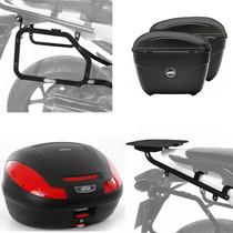 Kit Honda Nc700x Nc750x Baus Givi E470n E21n + Suportes Scam
