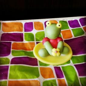Sapo Pepe En Porcelana Fría, Ideal Souvenirs