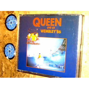 Cd Duplo Queen - Live At Wembley 86 (1990)c/ Freddie Mercury