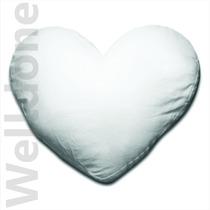 Cojin Funda Corazón Para Sublimación Welldone México