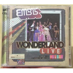 Eme15 Wonderland Live (cd & Dvd)