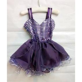 Disfraz Tinkerbell Campanita Vs Colores Artesanal T 1 Año