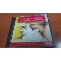 Carlos Gardel, Homenaje, 20 Tangos Clasicos, Cd Album Orfeon