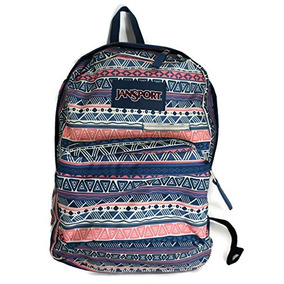 Jansport Digibreak Mochila - 1550cu En Color Marino Geo, Un