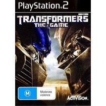 Jogo Ps2 - Transformers The Game- Frete Grátis