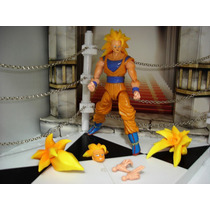 Goku Super Sayajim 3 Son Goku Dragon Ball Super Articulado