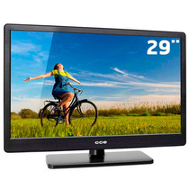 Tv Led 29 Cce Hd Conversor Digital Hdmi Usb Sistema Ginga