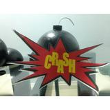 3 Bombas Isopor,centro De Mesa,vingadores,super Heróis