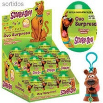 Ovo Surpresa Scooby Doo - Display Com 18 Unidades