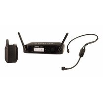 Microfone Shure Auricular Sem Fio Headset Glxd14 Pga31 C/nf