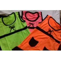 6 Vestidos Playeros Niñas Al Mayor Colores Y Tallas Variados