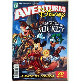 Aventuras Disney Nº 23 - Os Mágicos De Mickey