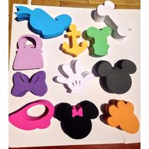 Figuras Troqueladas Caladas Disney Mickey Scrapbooking