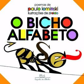 Livro O Bicho Alfabeto Paulo Leminski