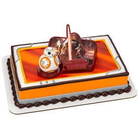 Star Wars Fiesta Infantil Decoracion Pastel Pastelitos V I I