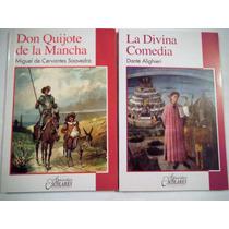 Paquete 2 Libros Don Quijote De La Mancha + Divina Comedia