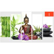 Cuadros Decorativos - Zen Spa Budha Bambú Meditación Piedras