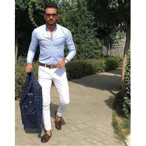 Pantalones Skinny Strech Para Hombre, Talla 28 A La 40