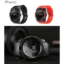 Smartwatch Reloj 360 Cámara Notificaciones Sim Microsd V8