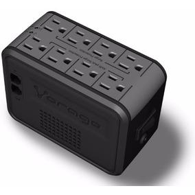 Vorago Regulador Voltaje Supresor Picos 8 Contactos 1000va