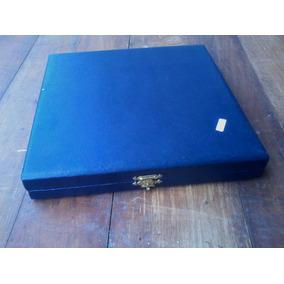 Caja De Presentación Carton Forrado Para Plato Conmemorativo