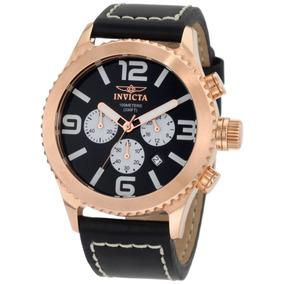 Reloj Marca Invicta 1429 Collection Chronograph Black Vbf