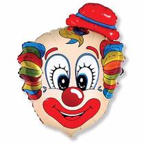 Balão Metalizado Palhaço - Circo -kit C/ 10 Promoção