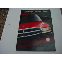 Folder Mopar Chrysler Dodge Dakota Lançamento 1997 97 Grande