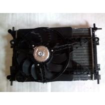 Conjunto Radiador Condensador Ventoinha Original Ford Ka 09.