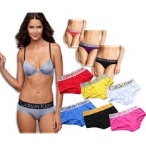 Lote 10 Panties Briefs Y Boxers Calvin Klein Women Ck Mixtos