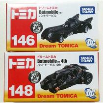 Takara Tomy Dream Tomica Batmobile Y Tumbler 148 146 Dc