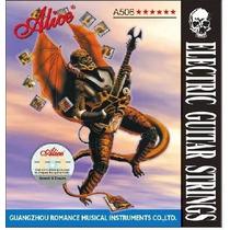 Cuerdas De Guitarra Electrica Alice Tension 0.10 Datemusica