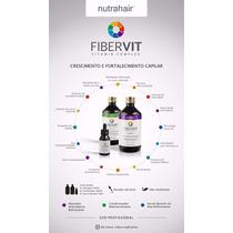 Fibervit Kit Fortalecimento E Crescimento Capilar Nutra Hair