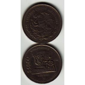 Moneda 5000 Expropiacion Petrolera Cincuentenario Op4