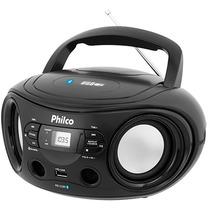 Rádio Portátil Philco Boombox Pb122bt, Bluetooth, Usb