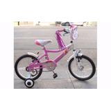 Bicicleta Musetta Kitty Rodado 16 Niña