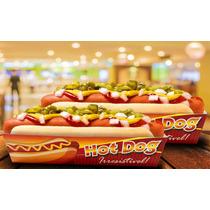 Embalagens Caixa Caixinhas Hot Dog Cachorro Quente Gde 1.000