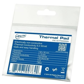 Pad Termico -thermal Pad Arctic Silver 50x50x 1mm - Vtcs