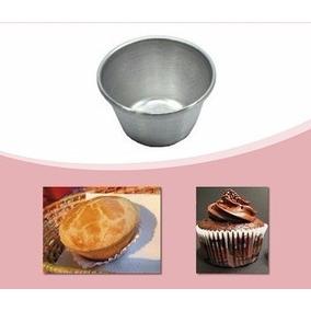 Forminhas Para Cupcakes Com 12 Peças Em Alumínio Empadas