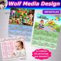 Imanes Calendario Souvenirs Infantil Adultos Personalizados