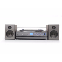 Toca Discos Raveo Aria Gravador De Vinil Bluetooth Cd Fm Usb