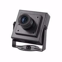 Mini Micro Câmera Espiã Ccd 600 Linhas Cftv Filmadora Hd