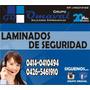 Laminado De Vidrio-papel Ahumado-esmerilado-microperforado