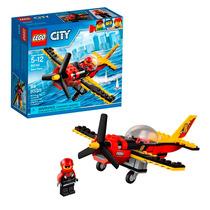 Lego 60144 Lego City Avião De Corrida