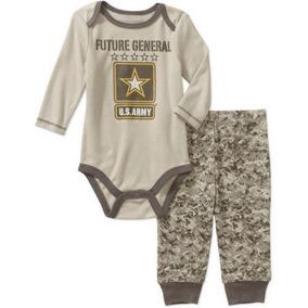 Conjuntos Pantalon Pañalero Camuflaje Talla 3-6 Meses
